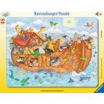 48 Teile Ravensburger Kinder Rahmen Puzzle Die große Arche Noah 06604