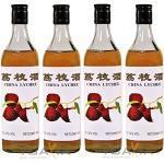 [ 4x 600ml ] CHINA LYCHEE alkoholhaltiges Litschi Getränk Lycheewein 12% Vol.
