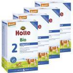 4x Holle Bio-Folgemilch 2 nach dem 6. Monat (4x600g)