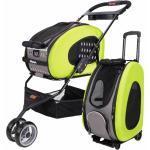 5 - 1 Combo Trolley - Hundebuggy, Hundetasche + grün grün