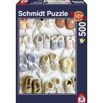 500 Teile Schmidt Spiele Puzzle Babyschuhe 58224