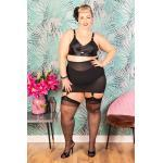 50s Trixie Firm Control Girdle in Black