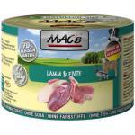 (6,16 EUR/kg) MACs Lamm & Ente 200 g - 6 Stück
