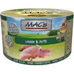 6 x 200 g | MACs | Lamm & Pute Cat | Nassfutter | Katze