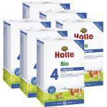 6 x Holle Bio Folgemilch 4 ab dem 12. Monat (6x600g)