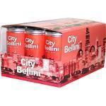60 Dosen City Bellini 5,5% aromatisierter Cocktail Vol. 60 x 200ml