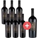 6er-Paket Miluna Primitivo Salento + GRATIS Magnumflasche - Weinpakete