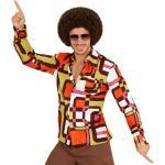 70er Jahre Disco Hemd Roy für Herren - bunt