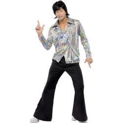 70's Retro Kostüm John - bunt
