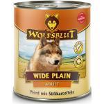 800 g | Wolfsblut | Wide Plain - Pferd mit Süßkartoffeln Adult | Nassfutter | Hund