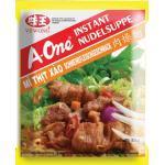 A-One [ 10x 85g ] Instant Nudelsuppe [ Schweinefleischgeschmack ]