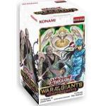 A YuGiOh War of The Giants Reinforcements Booster Display   DEUTSCHE Ausgabe   NEU & OVP   Yu-Gi-Oh Karten   + Arkero-G 100 Small Soft Sleeves