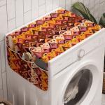 Abakuhaus Badorganizer »Anti-Rutsch-Stoffabdeckung für Waschmaschine und Trockner«, Stammes Mexikanisches Volk Motive