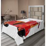 Abakuhaus Betttuch »weiches bequemes oberes Bettlaken dekoratives Bett 1 Stück«, Jahrgang Hippie Stadt Scooter