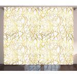 Abakuhaus Gardine »Schlafzimmer Kräuselband Vorhang mit Schlaufen und Haken«, zeitgenössisch Abstrakt Exotic
