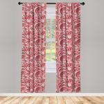 Abakuhaus Gardine »Vorhang für Wohnzimmer Schlafzimmer Dekor«, Asiatisch Retro