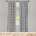 Abakuhaus Gardine »Vorhang für Wohnzimmer Schlafzimmer Dekor«, Ethnisch Arabische Kulturmotive