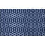 Abakuhaus Outdoorteppich »Dekorative Polyester Bodenmatte mit rutschfesten Träger«, rechteckig, Navy blau Nautical Nested Ropes