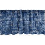 Abakuhaus Scheibengardine »Vorhang Volant für Küche Schlafzimmer Dekor mit Stangentasche«, asiatisch Stripy Tie Dye-Effekt