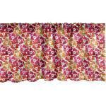 Abakuhaus Scheibengardine »Vorhang Volant für Küche Schlafzimmer Dekor mit Stangentasche«, Frühling Herz-geformte Knospen warme Töne