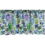 Abakuhaus Scheibengardine »Vorhang Volant für Küche Schlafzimmer Dekor mit Stangentasche«, Unterwasser- Moderne Seetiere
