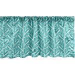 Abakuhaus Scheibengardine »Vorhang Volant für Küche Schlafzimmer Dekor mit Stangentasche«, Valentines Charcoal Sketch Herzen