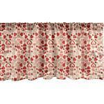 Abakuhaus Scheibengardine »Vorhang Volant für Küche Schlafzimmer Dekor mit Stangentasche«, Vintage Valentine kreative Herzen