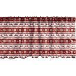 Abakuhaus Scheibengardine »Vorhang Volant für Küche Schlafzimmer Dekor mit Stangentasche«, Weihnachten skandinavisch