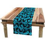 Abakuhaus Tischläufer »Esszimmer Küche Rechteckiger Dekorativer Tischläufer«, Fisch Lachsforelle in maritimem Stil, blau