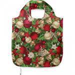 Abakuhaus Tragetasche »Praktische Einkaufstaschen Umweltfreundliche Wiederverwendbare«, Weihnachten Baum-Zweig Glocken, bunt