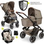 ABC Design 3in1 Kinderwagen-Set Salsa 4 Air - inkl. Babyschale Tulip & XXL Zubehörpaket - Fashion Edition - Nature inkl. Gratis Mobilitätsgarantie + 33,20€ Cashback auf Deine nächste Bestellung