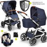 ABC Design 3in1 Kinderwagen-Set Viper 4 - inkl. Babyschale Tulip & XXL Zubehörpaket - Diamond Edition - Navy inkl. Gratis Mobilitätsgarantie + 29,40€ Cashback auf Deine nächste Bestellung