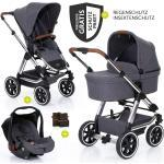 ABC Design 3in1 Kinderwagenset Condor 4 Air - Diamond Special Edition - inkl. Babywanne, Babyschale & Zubehörpaket - Asphalt inkl. Gratis Mobilitätsgarantie + 21,00€ Cashback auf Deine nächste Bestellung