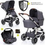 ABC Design 3in1 Kinderwagenset Viper 4 - Diamond Special Edition - inkl. Babywanne, Babyschale & Zubehörpaket - Asphalt inkl. Gratis Mobilitätsgarantie + 22,50€ Cashback auf Deine nächste Bestellung