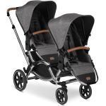 ABC Design Geschwisterwagen & Zwillingskinderwagen Zoom - Diamond Edition - Asphalt inkl. Gratis Mobilitätsgarantie + 21,00€ Cashback auf Deine nächste Bestellung