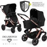 ABC Design Kombi-Kinderwagen Salsa 4 Air Diamond Edition - inkl. Babywanne, Sportsitz & XXL Zubehörpaket - Rose Gold inkl. Gratis Mobilitätsgarantie + 25,20€ Cashback auf Deine nächste Bestellung
