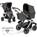 ABC Design Kombi-Kinderwagen Salsa 4 Air - inkl. Babywanne & Sportsitz - Diamond Edition - Asphalt inkl. Gratis Mobilitätsgarantie + 25,20€ Cashback auf Deine nächste Bestellung