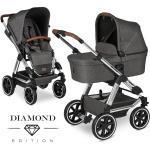 ABC Design Kombi-Kinderwagen Viper 4 - inkl. Babywanne und Sportsitz - Diamond Edition - Asphalt inkl. Gratis Mobilitätsgarantie + 23,70€ Cashback auf Deine nächste Bestellung