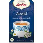 Abend Tee, bio - 17 Teebeutel à 1,8 g (30,6 g) - Yogi Tea