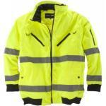 Abraxas Arbeits-Jacke/Weste in Übergröße, gelb, Größe:10XL