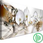 Abstrakt Blumen Vlies LEINWAND BILDER XXL WANDBILD Natur Orchidee Kunst 8 Motiv
