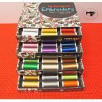Ackermann Stickgarn-Box-Maxi 72 Farben