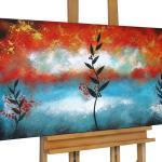 "Acryl Gemälde ""Fruiting Branch' 120x60cm"