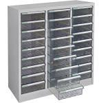 ADB Metall Schubladencontainer Schubladenbox Schubladenschrank 27 Fächer 880x795x350 mm Metall Werkstatt Werkzeugschrank Werkstattschrank