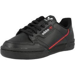 adidas Continental 80 J Sneaker, Schwarz (Core Black/Scarlet/Collegiate Navy 0), 35.5 EU