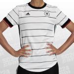 Weiße adidas DFB Home DFB - Deutscher Fußball-Bund Deutschland Trikots für Damen - Heim