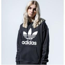 Adidas Hoodie Trf Hoodie Damen Xs Schwarz