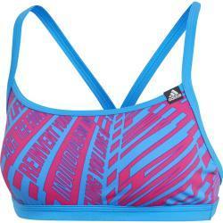 adidas Pro AOP Bikini Top Damen blau/pink DE 32 | XS 2019 Schwimmanzüge & Bikinis