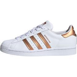 adidas Superstar Sneaker, 39 1/3 EU, Damen, weiß kupfer