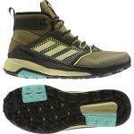 Gelbe adidas Terrex Trailmaker Gore Tex Herrenschuhe mit Schnürsenkel in Normalweite wasserdicht Übergrößen